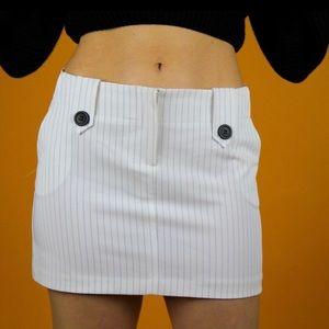 Dresses & Skirts - 90s pin stripe mini skirt